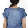 812103 Blusa Jeans (Costas)