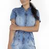 712119 Macaquinho Jeans com Zíper (Frente 1)