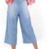 312103 Pantacourt Jeans com Elástico (Costas 2)
