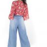 312103 Pantacourt Jeans com Elástico (Costas 1)