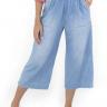 312103 Pantacourt Jeans com Elástico (Frente 2)