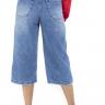 312102 Pantacourt Jeans com Ajuste na Cintura (Costas 2)