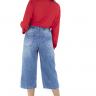 312102 Pantacourt Jeans com Ajuste na Cintura (Costas 1)