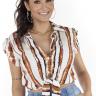 44112100493 T-shirt com Laço (Frente)