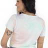 44212100495 T-shirt Feminina Tie Dye Floral (Costas)