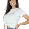 44212100495 T-shirt Feminina Tie Dye Floral (Lateral)