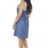 712116 Vestido Jeans com Lastex (Costas 3)