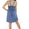 712116 Vestido Jeans com Lastex (Costas 1)