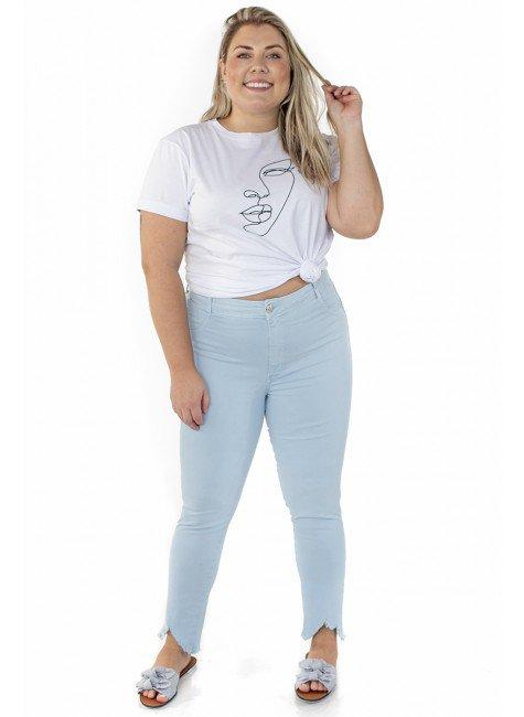 2121AR02004 Calça Jeans Skinny Barra Assimétrica Azul (Frente 2)