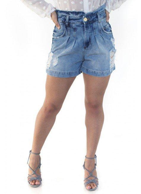 612108  Bermuda Jeans Mom Pietra (Frente 1)