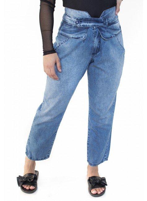 112104  Calça Jeans Mom Alice (Frente)